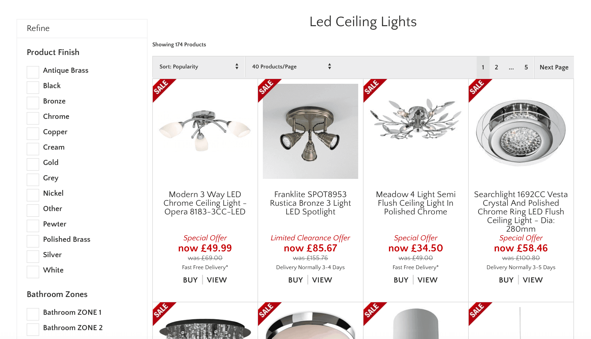 LED Lighting  – Lights 4 Living