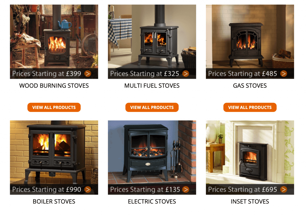 Direct Fireplaces  – Stoves