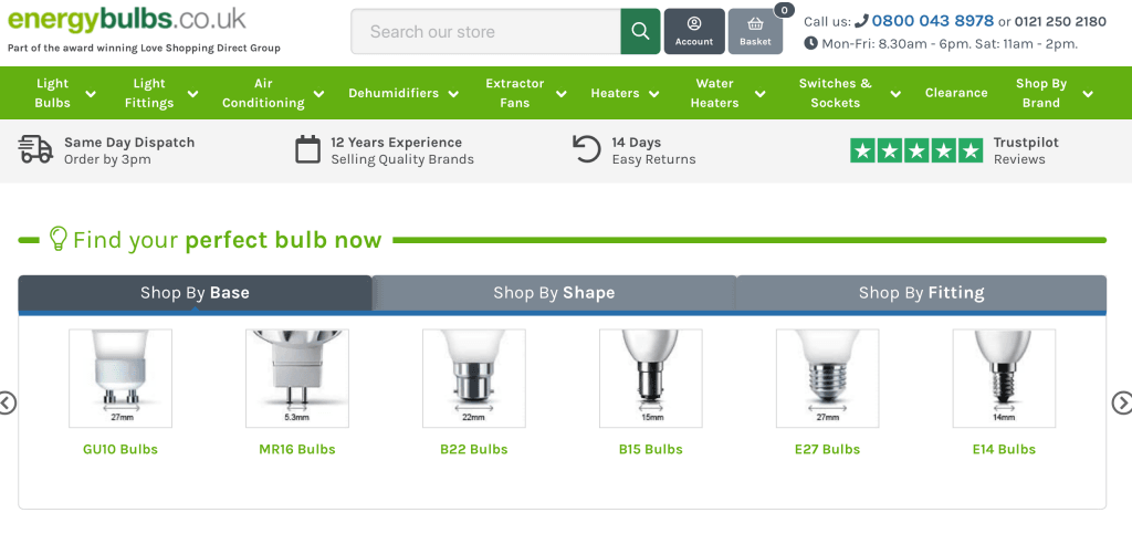 EnergyBulbs – Energy Saving Light Bulbs