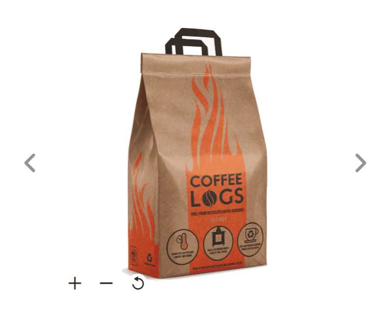 B&Q  – Solid Fuel Coffee Log