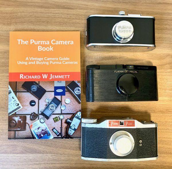 Purma camera book and cameras