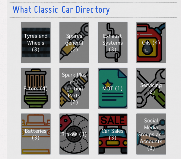 WhatClassic Car Directory