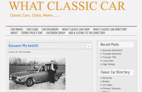 What Classic Car