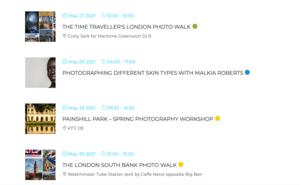 Photography Events - RW Jemmett Photography